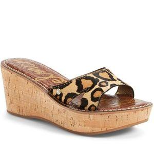 Sam Edelman Cheetah Print Reid Platform Sandal